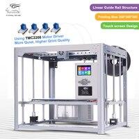 2017 Newest Large Printing Area Flyingbear DIY 3d Printer Kit Full Metal Linear Guide Rail High