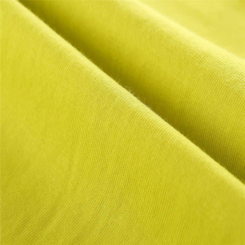 JOYINPARTY الاطفال ملابس الصيف الاطفال الملابس طفل فتاة الملابس كشكش الأصفر أعلى + ممزق الجينز طفل 2 قطعة الاطفال أزياء 2019