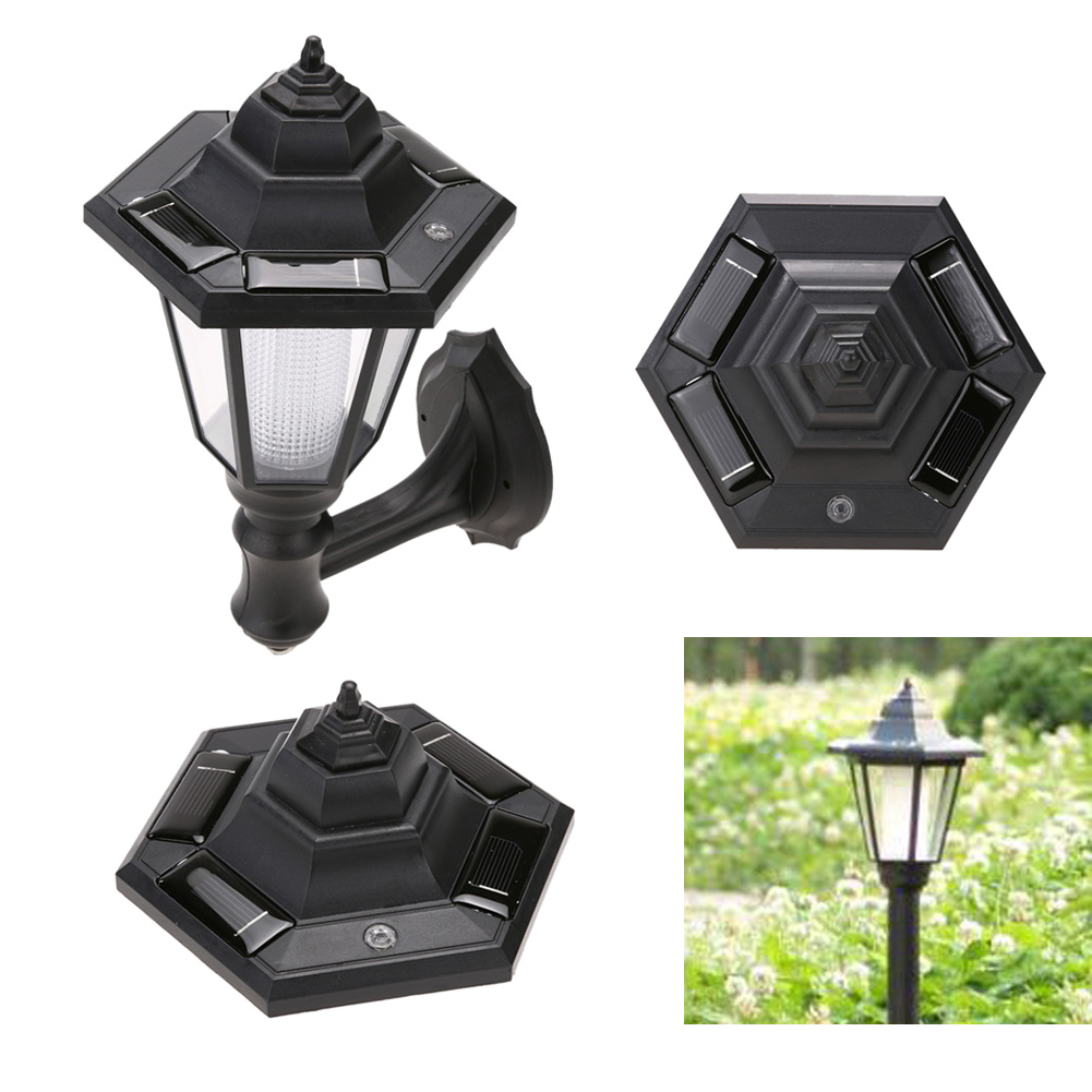 Aliexpress buy outdoor solar power led light path way wall aliexpress buy outdoor solar power led light path way wall landscape mount garden fence lamp ip44 monocrystal silicon 2v80ma 016w solar panel from baanklon Choice Image