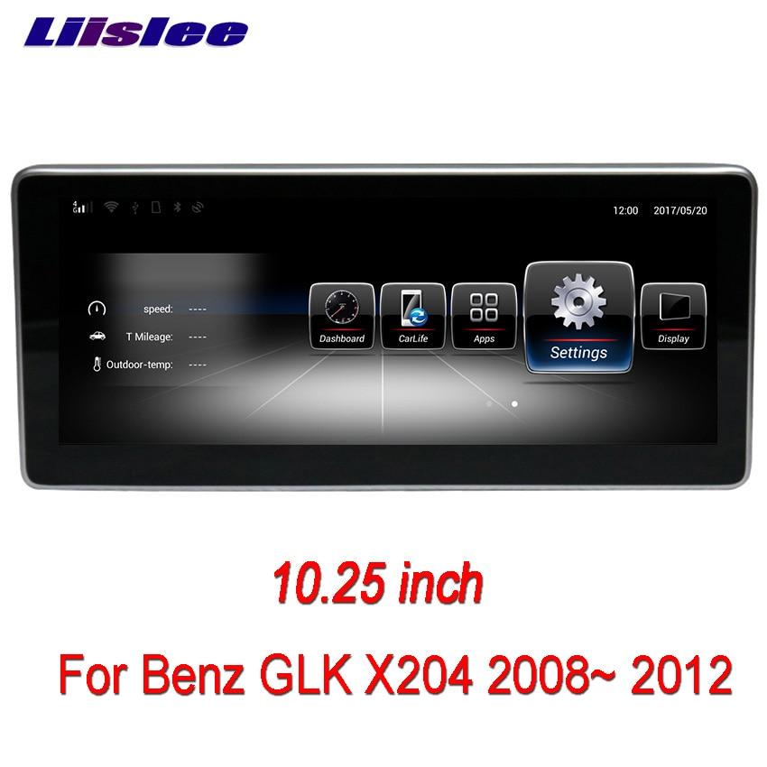 Liislee Car Multimedia Player NAVI For Mercedes Benz GLK Class X204 2008~ 2012 Car Radio Stereo GPS Navigation 7 android car radio audio dvd gps navigation central multimedia for mercedes benz glk x204 2007 2008 2009 2010 2011 2012 2013