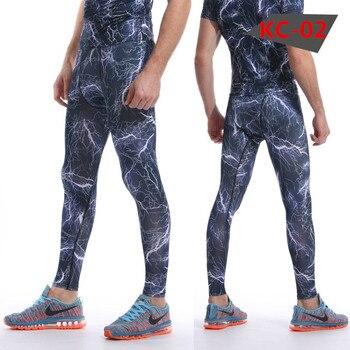 New Camouflage Pants Men Compression Pant Elastic Sweatpants Lifting Bodybuilding Skin Tights Trousers Brand Clothing Pantalon 4