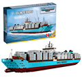 Lepin 22002 Technic Maersk Line Triple-E Ships Model Building Bricks Blocks Toys Gift Toys for Children Boy ecudational 10241