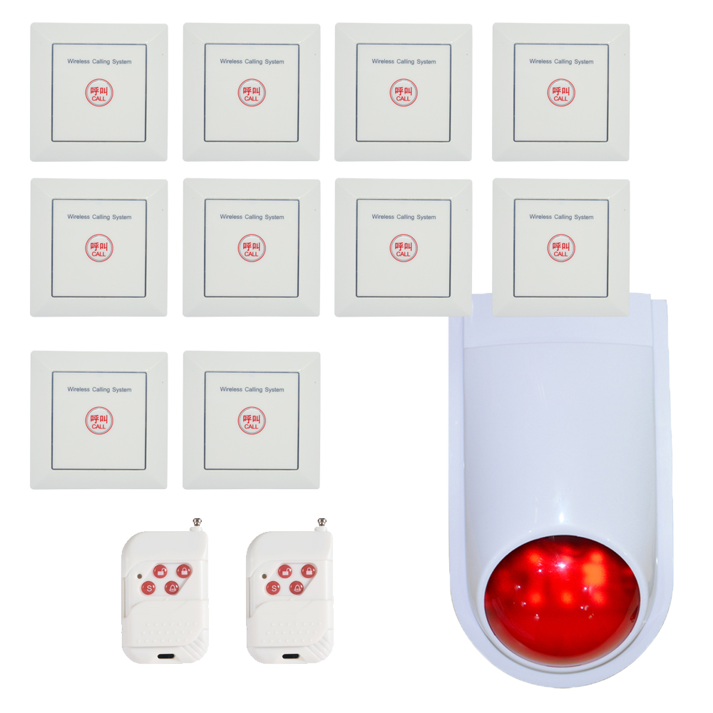 New Emergency calling system wireless button 86mm wall-mounted 433mhz Home security alarm system hospital and hotel room useNew Emergency calling system wireless button 86mm wall-mounted 433mhz Home security alarm system hospital and hotel room use