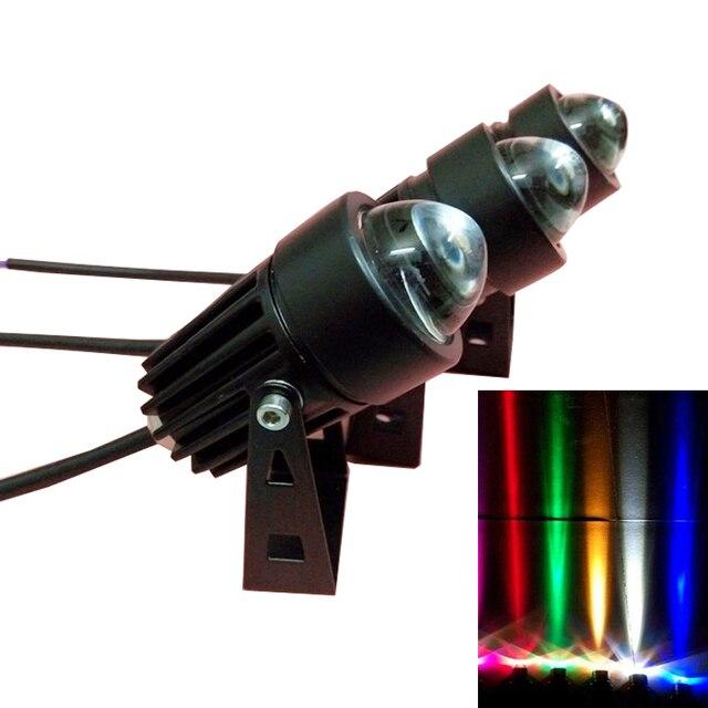 Наружное ландшафтное освещение 100-240 В/DC 12 В Светодиодный прожектор настенная шайба водонепроницаемые фонарики точечная лампа