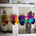2016 Nova Marca Designer Homens Mulheres Óculos De Sol Do Vintage Da Moda Motorista Óculos de Sol gafas oculos de sol masculino