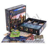 1 Boxed 7 Wonders Game duel Collection Cards DRUNK drinking Game Paper card Action Toys Figures Models Game Props