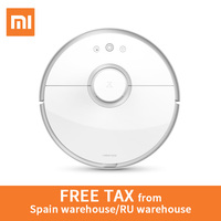 XIAOMI Global Version Roborock S50 Robot Vacuum Cleaner Wet Drag Mop Smart Planned Automatic Sweeping WIFI