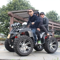Outdoor Fun Sports Quad Teenagers Adults Drive Four Wheel Motorcycle Racing Car Buggy Toy All Terrain Vehicle ATV Sand Beach Car