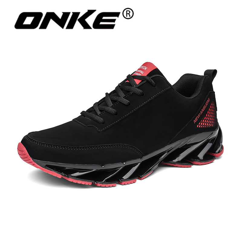 Onke Spring Autumn Sneakers for Men Waterproof Upper Men Running Shoes Non-slip Outsole Sport Shoes Man DM9109