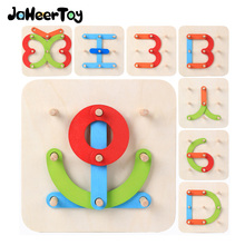 JaheerToy Baby Assembled Toy for Children Montessori Educational Wooden Toys Boys or Girls Funny