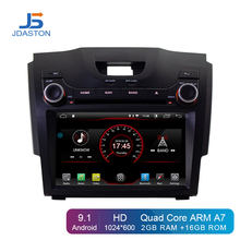 JDASTON Android 9.1 Car DVD Player For Chevrolet Holden S10 TRAILBLAZER COLORADO ISUZU DMAX GPS Radio Audio Multimedia Stereo(China)