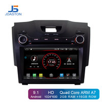 JDASTON Android 9.1 Car DVD Player For Chevrolet Holden S10 TRAILBLAZER COLORADO ISUZU DMAX GPS Radio Audio Multimedia Stereo
