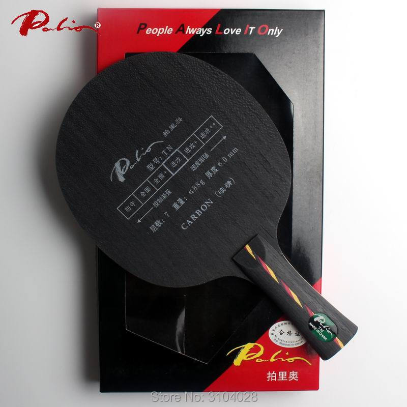 Palio official TN table tennis blade carbon hard blade suit for fast attack with loop ping