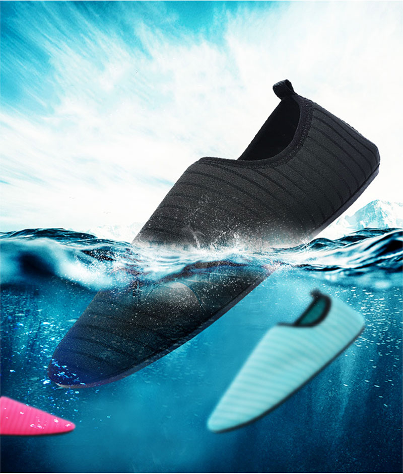 Summer Shoes Men Breathable Aqua Shoes Beach Sandals Adult Slippers Sport Upstream Shoes Women Diving Socks Tenis Masculino (1)