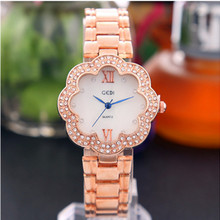 Womens Watches Top Brand  Fashion Ladies Watch Rose Gold Waterproof Diamond Fashion Watch Casual Quartz Watch цены