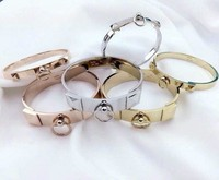 Groothandel China Levert Plated Rvs Charms Bangle