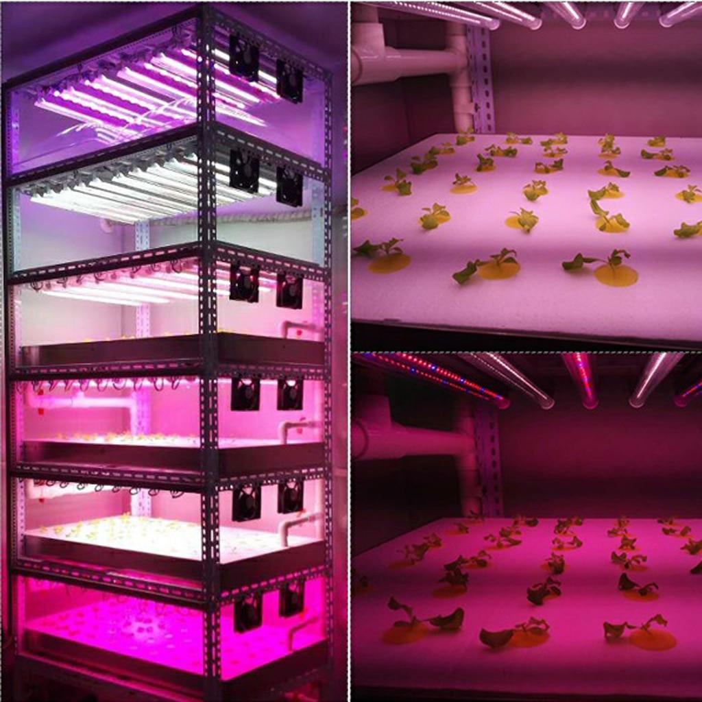 14 W LED grandir panneau lumineux rouge bleu blanc IR UV LED grandir lumière spectre complet pour les plantes d'intérieur serre jardin hydroponique