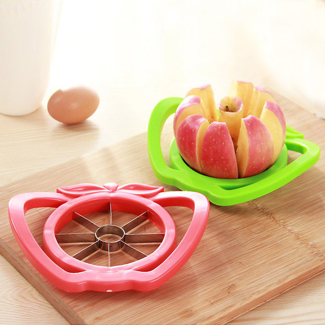 2018 New Kitchen Apple Slicer Cutter Pear Fruit Divider Tool Comfort Handle Peeler #Ne906 by Zmhegw