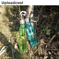 1pc 6 Kinds Of Color New Creative Bottle Anti Broken Plastic Cup Leak Proof Transparent With
