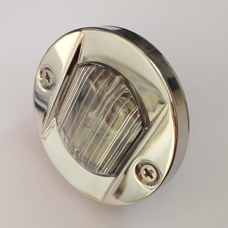 Image 3 - 12V 24V Round Stainless Steel Marine Boat Light Navigation Transom Light 8W Tungsten Bulb Lamp Waterproof-in Marine Hardware from Automobiles & Motorcycles