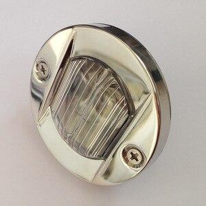 Image 3 - Lampe ronde en acier inoxydable 12V 24V