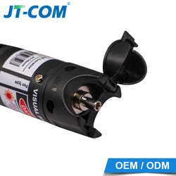 30mW Visual Fault Locator 30KM Red Light Laser Source Fiber Optic Cable Tester SC/FC/ST Connector Pen-Type with VFL Meter 650nm