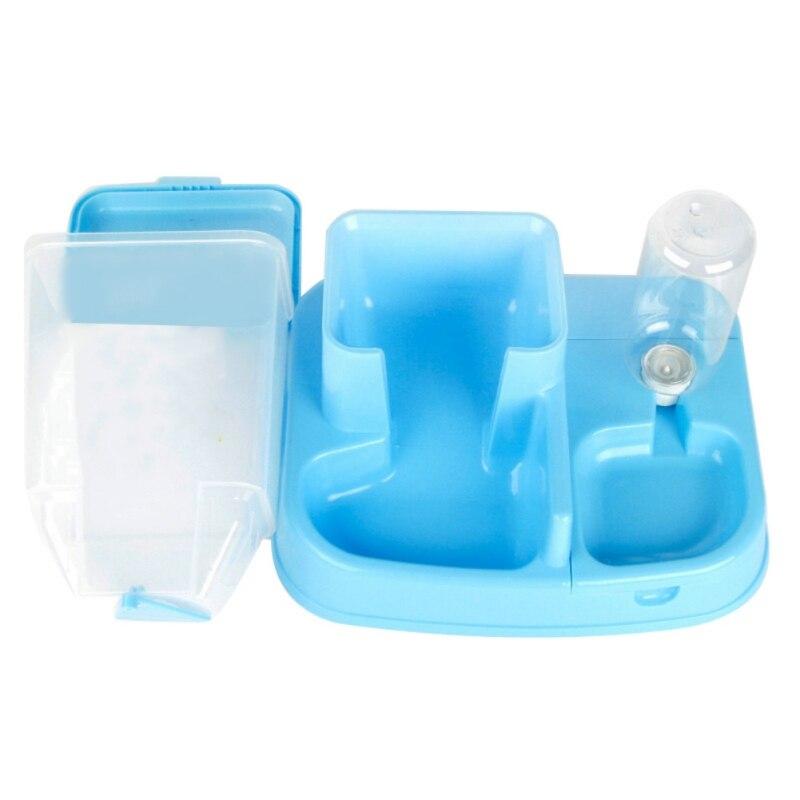 Для домашних собак и котов автоматической подачи автоматический дозатор воды Щенок питьевой фонтан еда Dishl зоотоваров