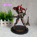LOL The Sinister Blade Katarina Action Figure PVC 19cm high Statue Plastic doll birthday gift Home decoration
