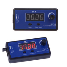 1 /2 / 5 Pcs Digitale Servo Tester/Esc Consistentie Tester Voor Rc Helicopter Vliegtuig Auto Rc Helicopter tester Tool