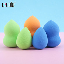 Cocute Beauty Makeup Sponge Powder Puff Smooth Foundation Sponges for Lady Make Up Sponge High Quality Cosmetic Puff Colors Tool(China)