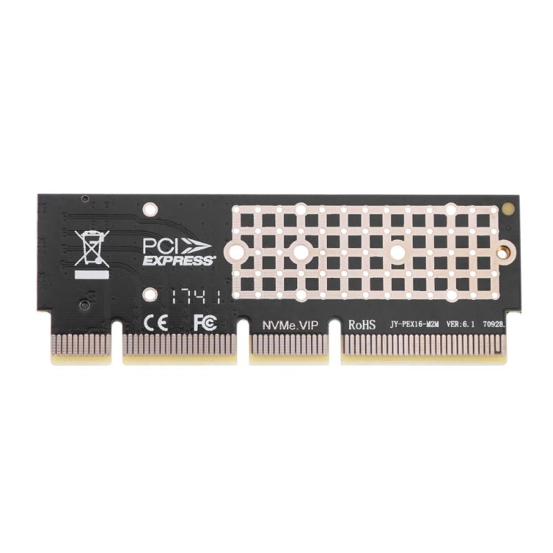 VODOOL M.2 NGFF 90x32mm X16/X8/X4 PCIE NVME M.2 SSD to PCIE 3.0 Expansion Card Adapter Support Windows 7/8/10