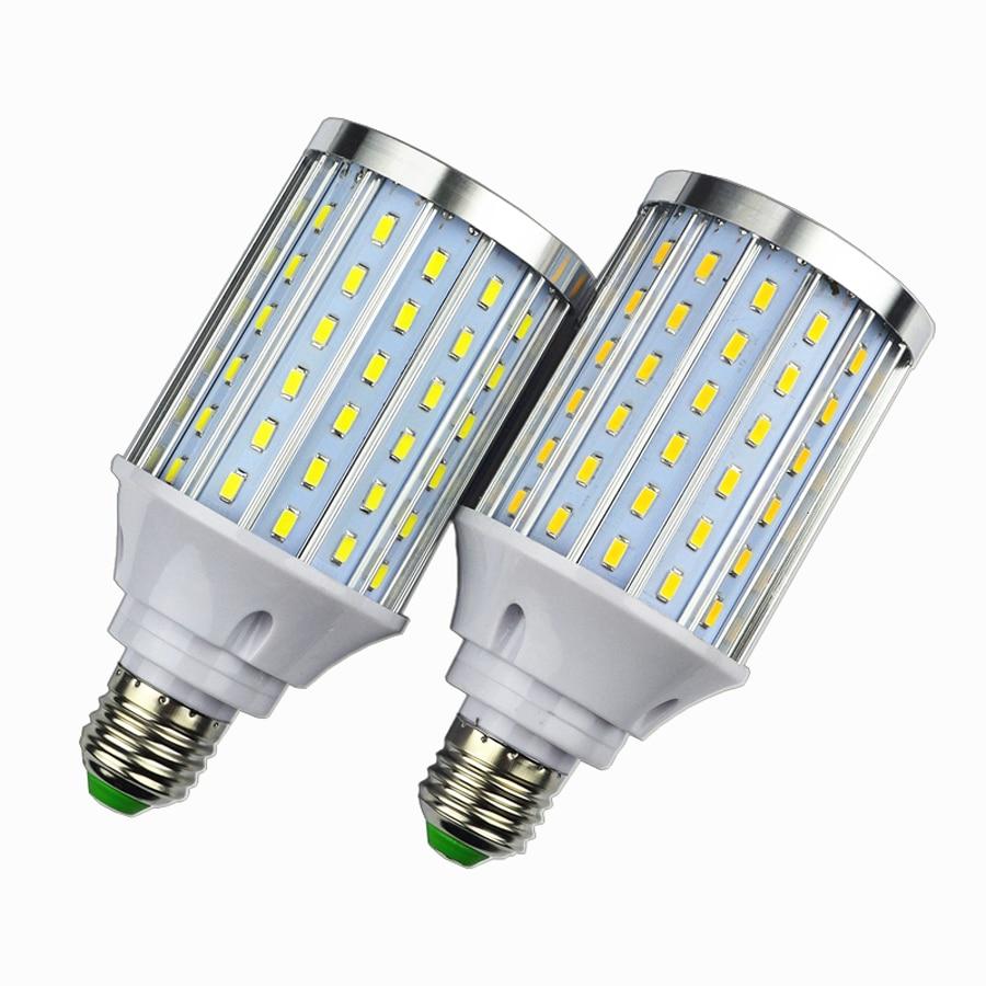 Aluminum Led Corn Bulb Light , E27 25W LED lamp Light, SMD 5730 108Leds Led Corn Lamp Chandelier light AC85V-265V 7w led bulb light e26 e27 g24 g23 e14 7w led corn light corn bulb lamp cob led corn light with aluminum shell 85 265v