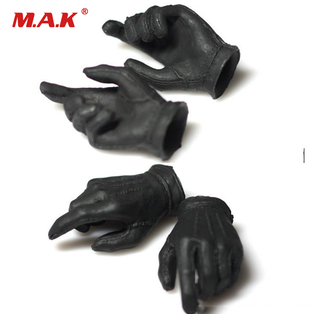 4Pcs/ Set Action Figure 2.0 Black Black Gloves Clown Bank Robbers Version for 12 inches Action Figure Doll Body Toys Accessories