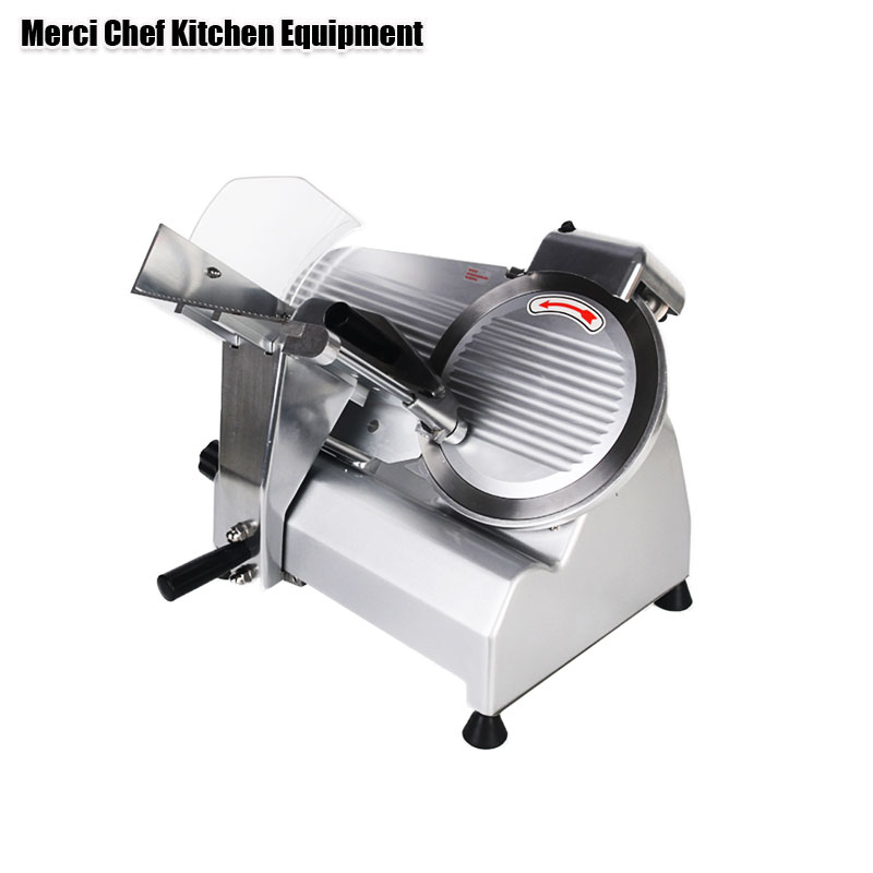 Food Machine Commercial Meat Slicer Household Electric Meat Cutter Sliceable Pork Frozen Meat Cutter Slicer Cutting Machine commercial meat cutting machine 600w electric meat slicer stainless steel meat cutter bl70