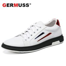 New Spring and Autumn men casual shoes genuine leather trainers breathable fashion sports men's sneakers comfortable soft shoes