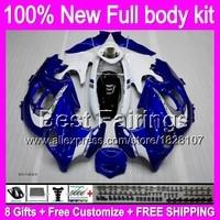 Fairing For SUZUKI Blue white KATANA GSXF750 GSXF600 03 04 05 06 07 7B3 GSX600F GSXF 600 750 2003 2004 2005 2006 2007 +Decal