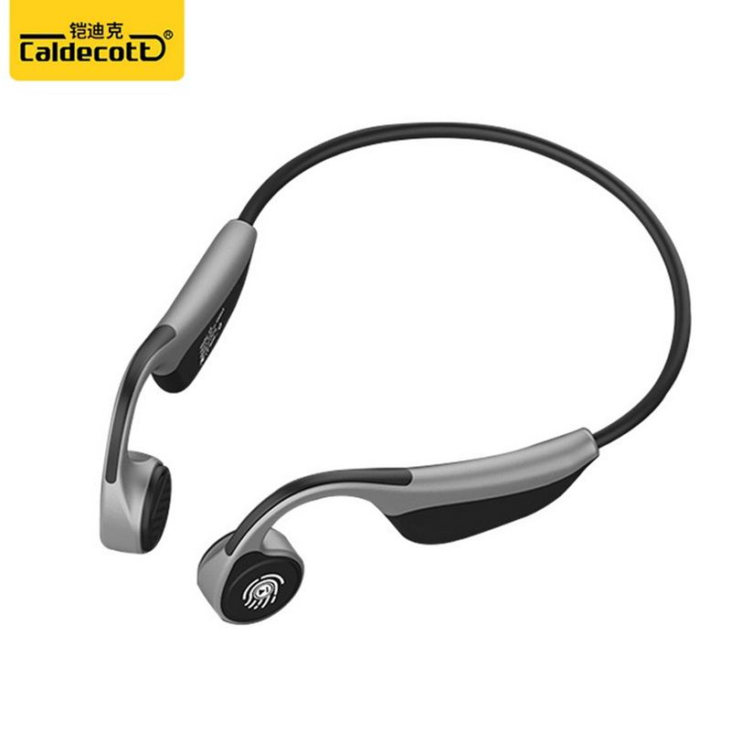 Caldecott casque Sport extérieur V9 casque sans fil Conduction osseuse écouteur Microphone mains libres casques IPX5 étanche