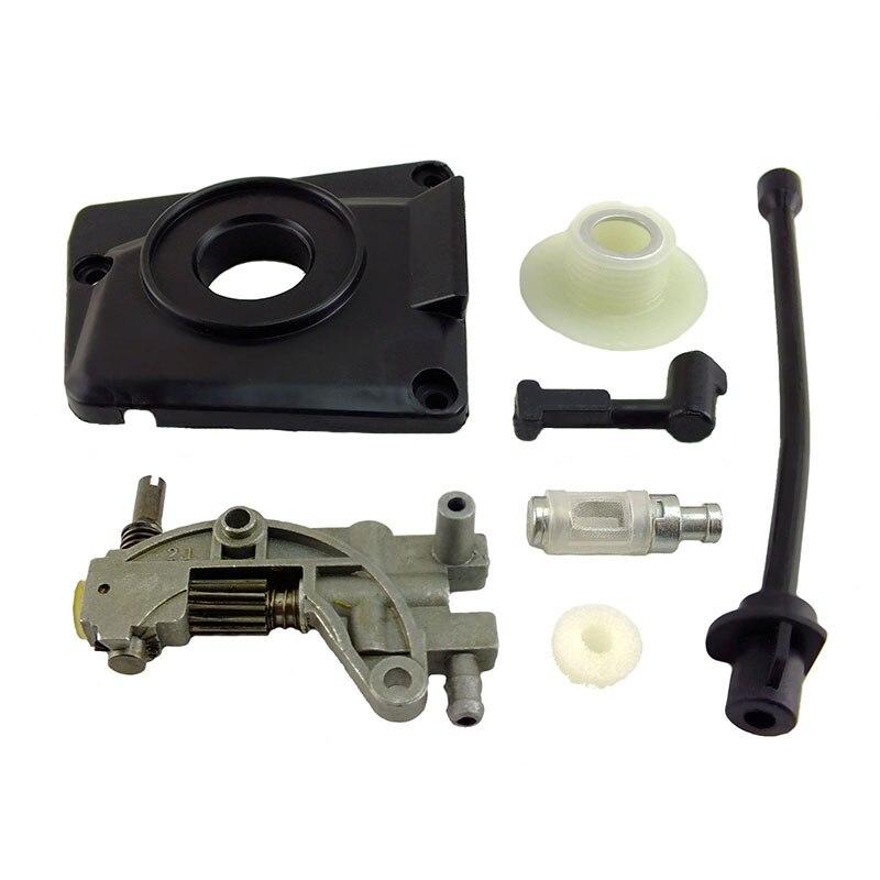Öl Service kit für kettensäge 450 520 5800 45CC 52CC 58CC Pumpe abdeckung ausgestattet Set