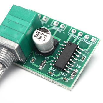 Mini PAM8403 Audio USB płyta wzmacniacza zasilania DC 5V 3W + 3W podwójny kanał Amp moduł tanie i dobre opinie KOQZM NONE CN (pochodzenie) Głośniki Dla gracza Audio Amplifier Board