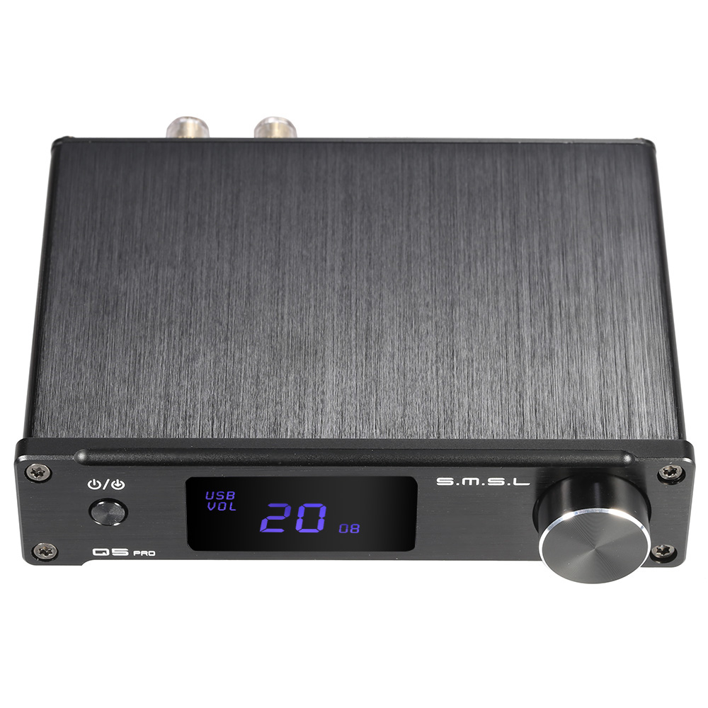 S M S L Q5 pro Mini Portable HiFi Digital Analog USB Coaxial Optical Stereo Audio