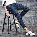 Pioneer camp de moda nuevos pantalones vaqueros de los hombres de algodón elástico transpirable pantalones de mezclilla casual para hombres slim fit skinny jeans masculinos 566080