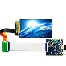 LS055R1SX03 5.5 אינץ 2k IPS LCD מודול 2560*1440 LCD מסך תצוגת HDMI כדי MIPI לוח עבור VR LCD WANHAO D7 3d מדפסת מקרן