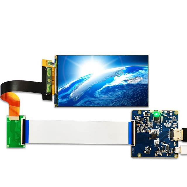 LS055R1SX03 5.5 인치 2k IPS LCD 모듈 VR LCD WANHAO D7 3d 프린터 프로젝터 용 MIPI 보드에 2560*1440 LCD 화면 디스플레이