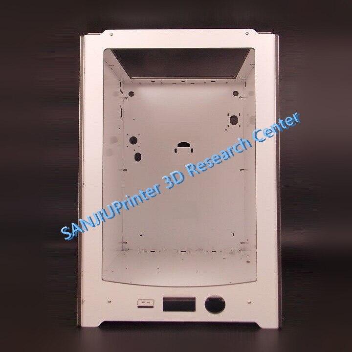 SANJIUPrinter Pour UM2 Ultimaker 2 Prolongée + Cadre Shell Cas Fait par Épaisseur 6mm En Aluminium Plaque Livraison Gratuite.