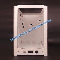Sanjiuprinter for um2 ultimaker 2 확장 + 프레임 쉘 케이스 두께 6mm 알루미늄 플라스틱 플레이트 무료 배송.