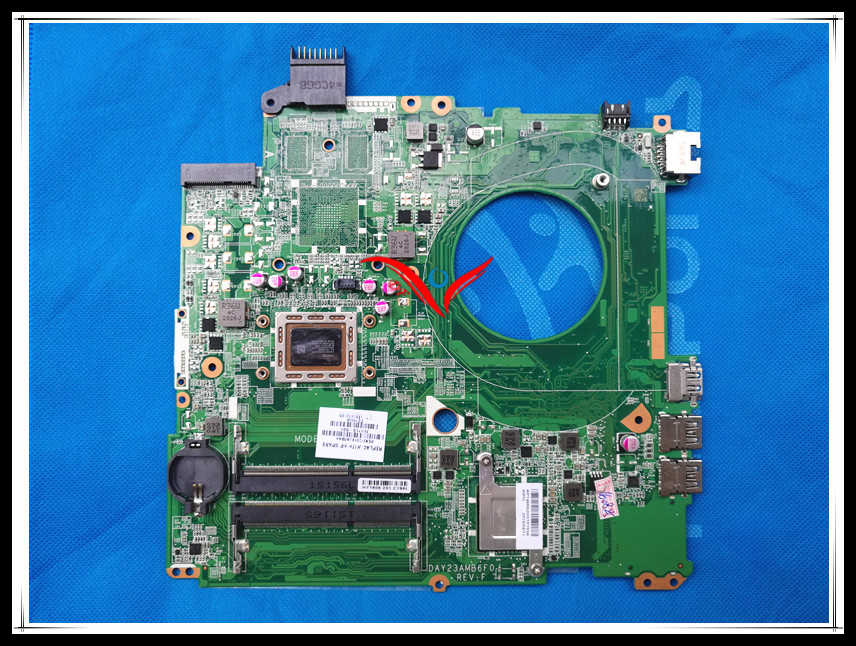 Original 766713-001 766713-501 766713-601 DAY23AMB6C0 REV F A8-5545M LAPTOP motherboard for HP Pavilion 15-P series main board.