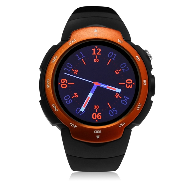 Original Zeepin Smart Watch Android 5.1 OS MTK6580 Quad Core Smartwatch Phone Support Google Map 3G Heart Rate Monitor Watch