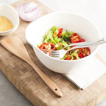 Bone China Ceramic Bowl White Medium Pigmented Mixing Bowls Food Container Home Fruit Salad Pasta Breakfast Tableware Soup Bowl