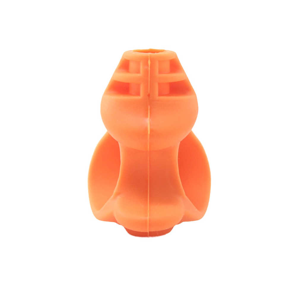 Snake  Shape Small Student Writing Aid Pencil Holder Gift Posture Correction Pen Silicone Grip Accessories School Kids