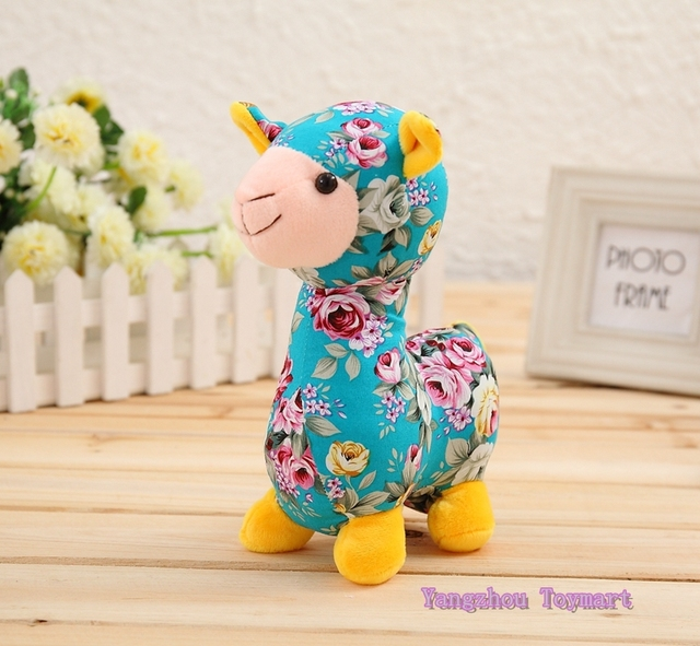 30cm Colorful Stuffed Toy Sheep Adorable 4 Colors Trendy Pattern